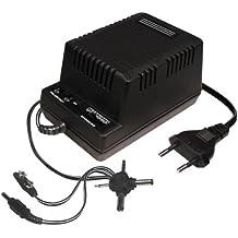Transmedia NT4SGSL - Cargador con clavijas DC (1200 mA, 230 V, /3/4,5/6/7,5/9/12 V)