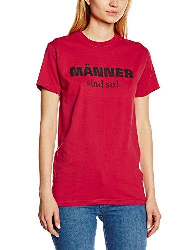 Touchlines - B1714, T-shirt da uomo rosso (Brickred)