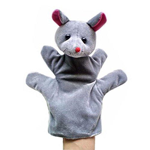 Lindo marionetas de mano de la felpa animal de los amigos marionetas de mano, Ratón