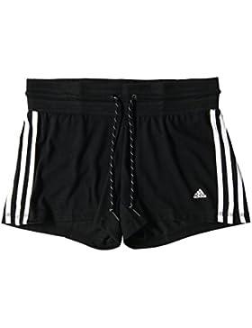 Adidas–Pantaloncini da donna sport Essentials, Nero (200), XL