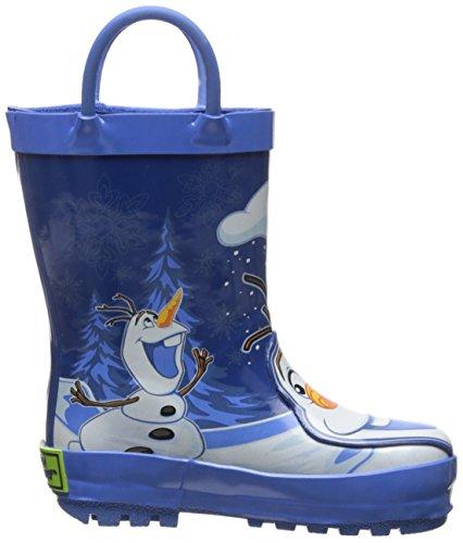 Western Chief Disney Frozen Olaf Gummi Regenstiefel Blue