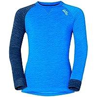 Odlo - Shirt L/S Crew Neck Revolution TW Warm K, Color Azul, Talla 104