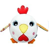 Preisvergleich für Baby-lustiges Spielzeug Baby Lovely Chick Weiche Hand Rasseln Bell Kinder Baby Funnny Crawlen Bell Ball Spielzeug Geschenk