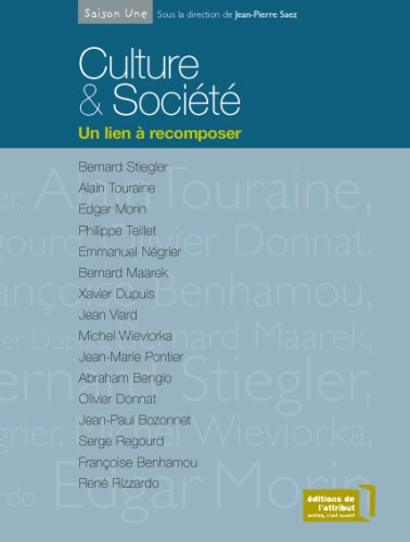 Culture & Socit : Un lien  recomposer