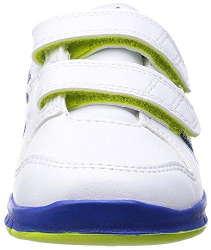 adidas Performance - Trainer 6, Scarpine primi passi Unisex – Bimbi 0-24 Nero / Bianco / Grigio