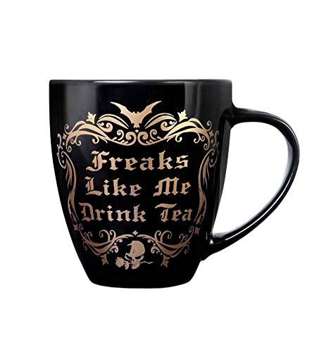 Alchemy Freaks Like Me Drink Tea Rose Gold Edition Mug