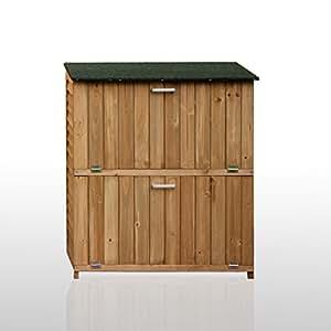 armoire exterieur de rangement pour les chaussures pour terrasse et jardin en bois 103x56x79. Black Bedroom Furniture Sets. Home Design Ideas