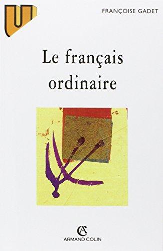 Le Français ordinaire, 2e édition