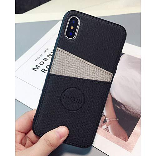 MEISHAON Handyhülle Mode Stoff Tuch Telefon case für iPhone x xs max xr Brieftasche Kreditkarte case für iPhone 8 7 6 6s Plus kartensteckplätze Hard Cover - Iphone 5c Kreditkarten-telefon-kasten