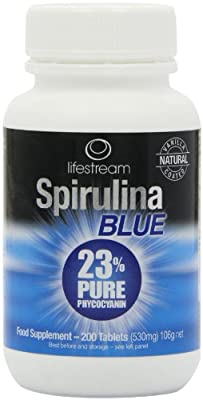 Lifestream Spirulina Blue Tablets - Pack of 200 Tablets by Lifestream