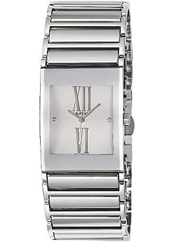 Rado Damen-Armbanduhr Integral Jubile mit Diamanten Analog Quarz R20745722