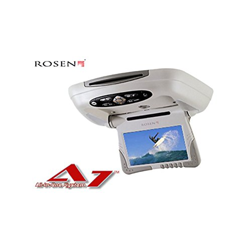 Rosen AC-3101 ALL IN ONE Deckenmonitor 7 Zoll TFT, mit DVD-Player/ Fernbedienung