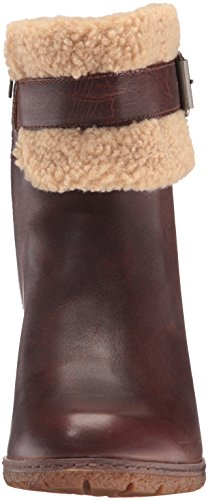 Timberland Womens Glancy Teddy Fleece Fold Down Boot Tobacco Forty