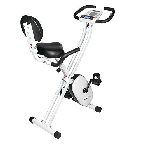 SportPlus SP-HT-1004-iE Bicicleta Estática Plegable con Control de Aplicaciones, Google Street View,...