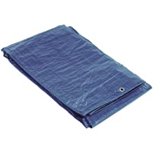 SATURNIA 15070015 Lona Impermeable Azul Con Ojetes Metálicos 5 x 6 Metros (Aproximadamente)