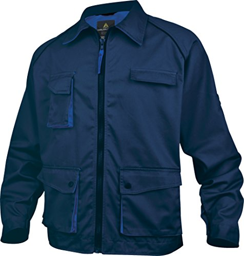 Panoply Herren Jacke , Navy With Royal Blue Trim Royal Blue Trim