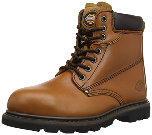 Dickies Men's Cleveland SB-P Safety Boots FA23200 Chestnut Marron