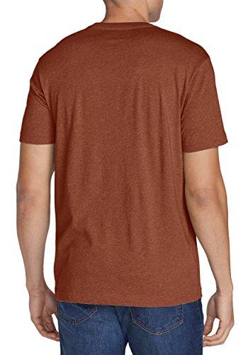Eddie Bauer Herren T-Shirt 332282 Rost meliert
