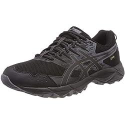Asics Gel-Sonoma 3 G-TX Trail, Zapatillas de Running para Asfalto para Mujer, Negro (Black/Onyx/Carbon 9099), 41.5 EU