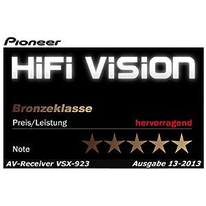 Pioneer VSX-923-K 7.2 AV-Receiver (Airplay, Steuerung via