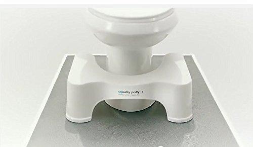 Squatty Potty(スクワティポティー) 洋式トイレ用足置き台(トイレ踏み台) 高さ 18 cm (7inch)