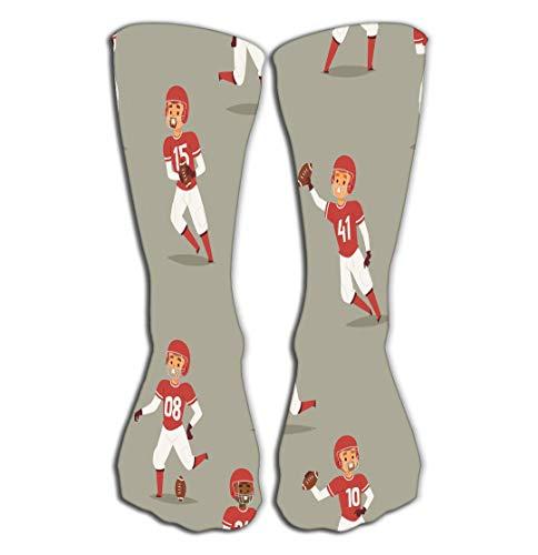 Xunulyn Hohe Socken Women's Knee High Socks 19.7