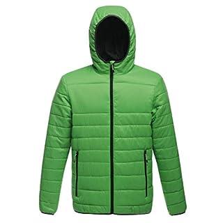 Regatta Women's Arcadia Warmloft Down Touch Women's Jacket Plain Hooded Long Sleeve Jacket, Green (Fairway Green), 14 (Manufacturer Size:14.0)