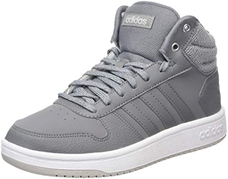 Adidas Hoops 2.0 Mid, Scarpe da Basket Donna | La prima serie di specifiche complete per i clienti  | Maschio/Ragazze Scarpa