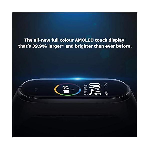 Xiaomi Smart Band 4, Adultos Unisex, Negro, Talla única 2