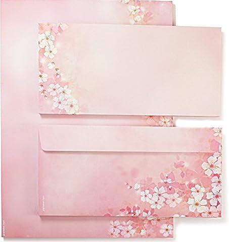 Spring Cherry Blossoms (25 Sets incl. Envelopes) Writing Paper Folder