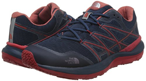 The North Face Ultra Cardiac II Scarpa trail running Shady Blue/high Risk Red