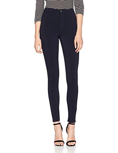 PIECES Damen Skinny Jeans Pchighskin Wear Jeggings Nbl/Noos, Blau (Navy Blazer), 32 (Herstellergröße: XXS)