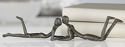Casablanca Design Skulptur, Figur - Loving - 30 cm - Eisen