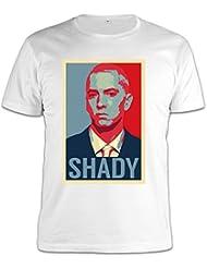 Eminem Shady Poster T-Shirt Herren