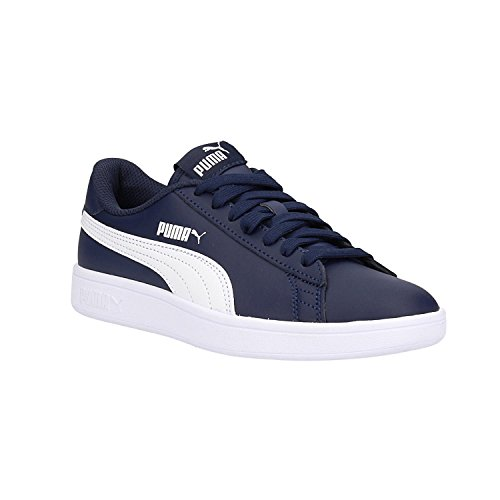 Puma Unisex-Erwachsene Smash V2 L Sneaker, Blau (Peacoat White 05), 41 EU