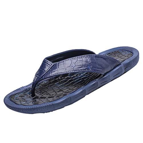 B-commerce Herren Flip Flops Sandalen - rutschfeste Slipper Strandschuhe Lässige Persönlichkeit Durable Strandschuhe