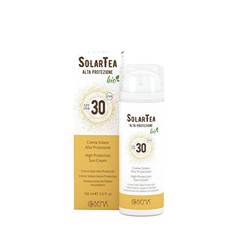 Solartea crema solare bio alta protezione spf 30 150ml - bema