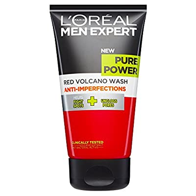 L'Oreal Paris Men Expert Pure Power Scrub Face Wash 150ml from L'Oreal