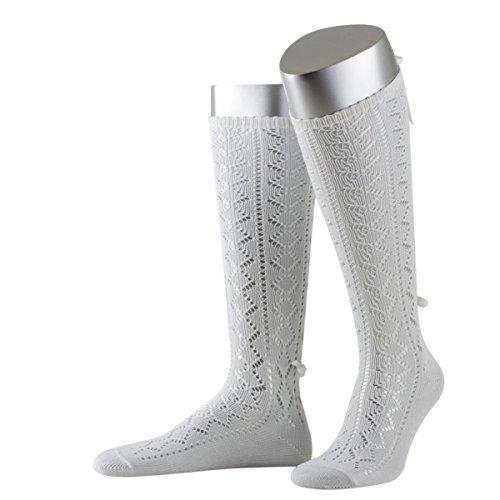 Kniestrümpfe in Weiß von Lusana, Größe:40 - 42;Farbe:Weiß