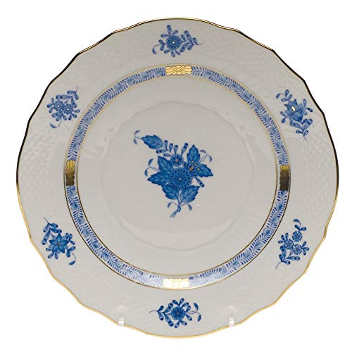 Herend Chinese Bouquet Blue Salad Plate by Herend -