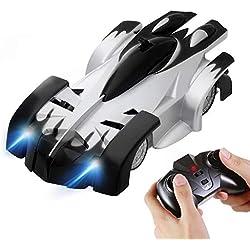 Voiture TéLéCommandéE éLectrique, Dual-Mode 360°Rotating Stunt Car LED Charge De TêTe Gravity Counter MéNage Voiture Wireless PréSente Son Anniversaire pour Les Enfants