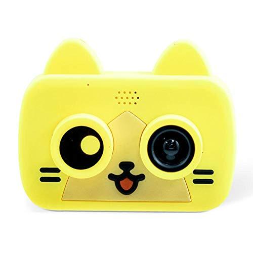 Pepional Digitalkamera für Kinder 1080P mit Datenkabel Lanyard für Kinder Jungen Mädchen Mini-Videokamera Videokamera Cute Cartoon Neues Jahr Geburtstag Festival Geschenk Spielzeug
