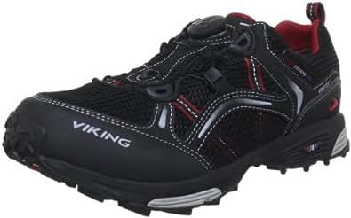Viking APEX MAN BOA GORE-TEX® 3-43575-210, Herren Traillaufschuhe, Schwarz (Black/red 210), EU 41