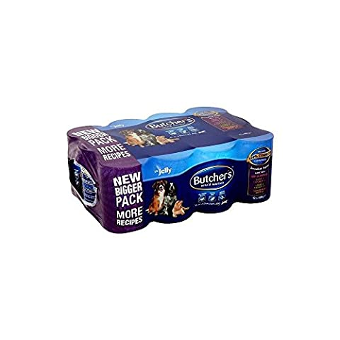 Butcher's Natural Nutrition Favourites All Meat Loaf in Jelly Variety Pack (12x400g)