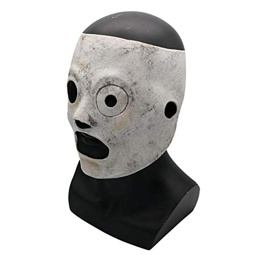 Cosplay Mask Dekoration Halloween Theme Slipknot Band Harz Latex Horror Maske Parteien Bar Unterhaltung für Erwachsene Männer Halloween Kleidung für Karneval Maske Party Maske ()