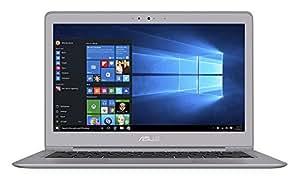 ASUS ZenBook UX310UA-FB097T 13.3-Inch Notebook - (Quartz Grey) (Intel Core i7-6500U, 8 GB RAM, 500 GB HDD, 256 GB SSD, Windows 10)