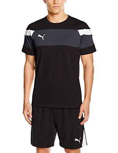 Puma - T-shirt da uomo Spirit II Leisure nero/bianco