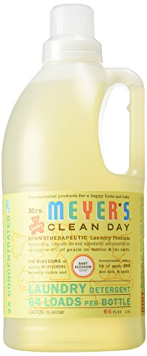 Clean Day Baby Blossom Laundry Detergent by Mrs. Meyers