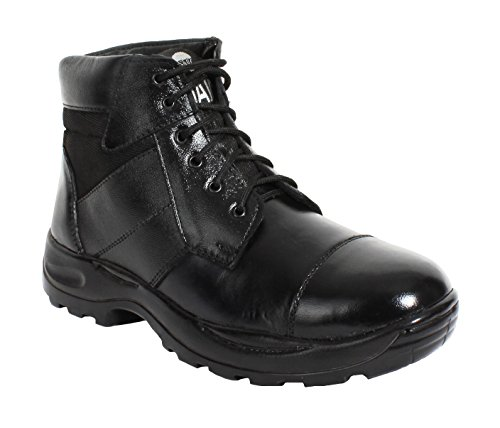 Ankle-Black-Commando-Boots