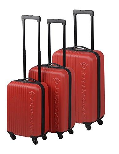 Preisvergleich Produktbild Dunlop Travel Laptop Rollkoffer, 120 Liter, Rot